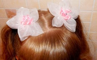 резиночка для волос своими руками