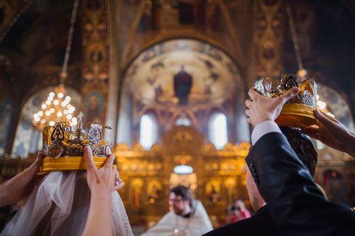 в храме венчание