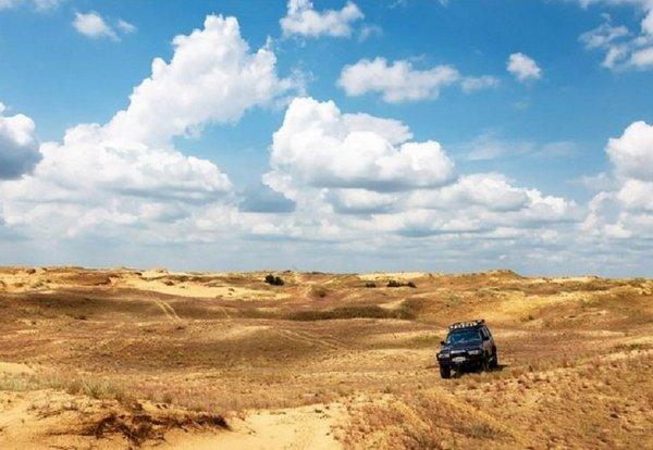 """Украинская Сахара """"Олешковские пески"""", крупнейшная пустыня Европы"""