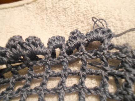 вяжем рюшики