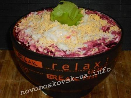 салат селедка под шубой с фото пошагово