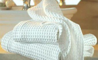 как отбелить и отстирать кухонные полотенца