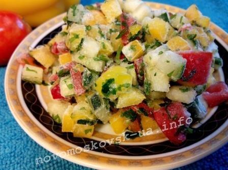 замороженные овощи на зиму