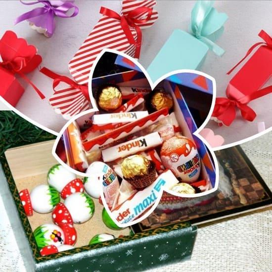 Сладкие подарки на Новый год: купить или сделать самому? Интересные идеи